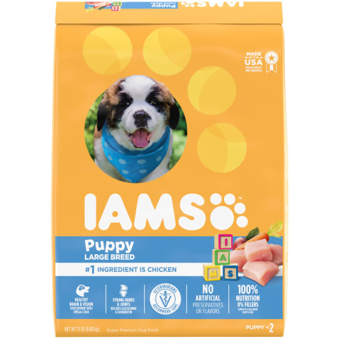 Iams ProActive Health Smart Puppy with Real Chicken Large Breed Dry Food