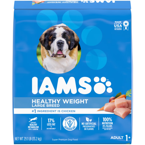 Iams ProActive Health Adult Healthy Weight Control with Real Chicken Large Breed Dry Dog Food