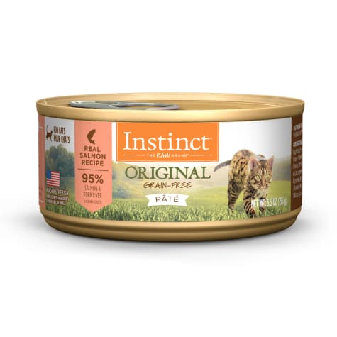Instinct Original Grain-Free Pate Real Salmon Recipe Wet Cat Food