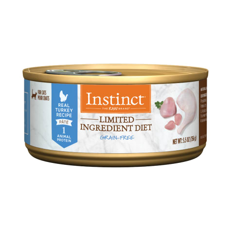 Instinct Grain-Free Limited Ingredient Diet Turkey Canned Cat Food by Nature's Variety