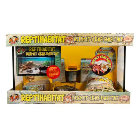 Zoo Med ReptiHabitat Hermit Crab Kit