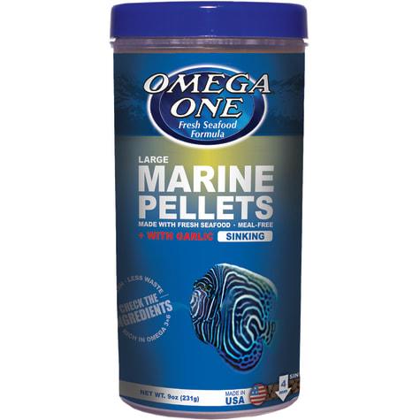 Omega One Garlic Marine Large Sinking Pellets