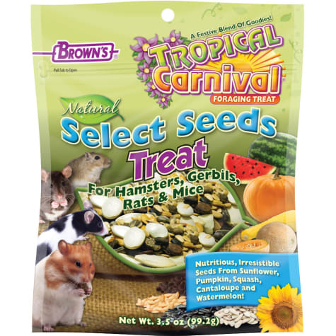 Brown's Tropical Carnival Natural Select Seeds Treat