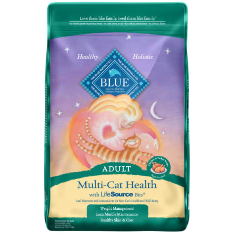 Blue Buffalo Blue Multi-Cat Health Adult Chicken & Turkey Recipe Dry Cat Food