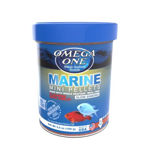Omega One Garlic Marine Slow-Sinking Mini Pellets
