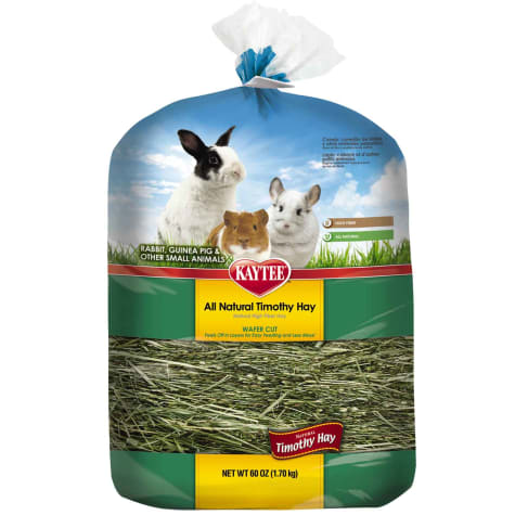 Kaytee All Natural Timothy Wafer-Cut Hay for Rabbits & Small Animals