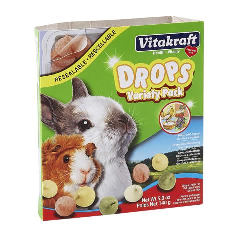 Vitakraft Drops Variety Pack Rabbit & Guinea Pig Treat