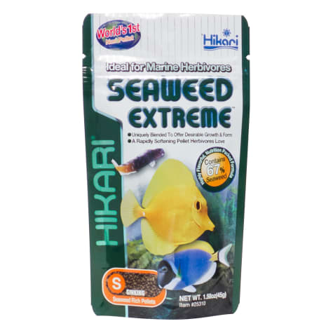 Hikari Seaweed Extreme Floating Algae Pellets for Smaller Marine Herbivores