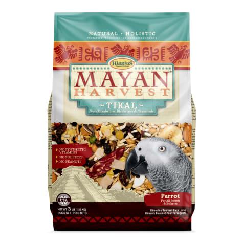 Higgins Mayan Harvest Tikal Blend Bird Food for Parrots