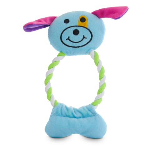 Petco 2 for 5 Toys In The Loop Animal Plush & Rope Dog Toy in Various Styles
