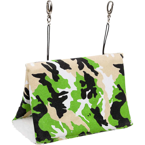 Multipet Camouflage Small Animal Happy Hut in Green