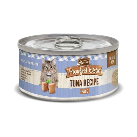 Merrick Purrfect Bistro Grain Free Tuna Pate Wet Cat Food