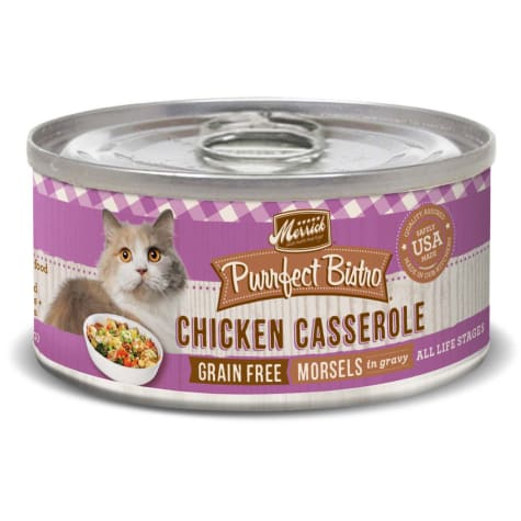 Merrick Purrfect Bistro Grain Free Chicken Casserole Wet Cat Food
