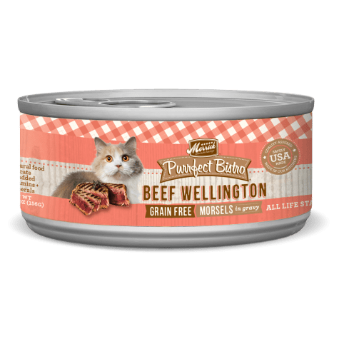 Merrick Purrfect Bistro Grain Free Beef Wellington Wet Cat Food