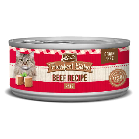 Merrick Purrfect Bistro Grain Free Beef Pate Wet Cat Food