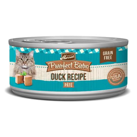 Merrick Purrfect Bistro Grain Free Duck Pate Wet Cat Food