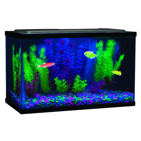 "GloFish Blue LED Aquarium Waterproof Light, 8"" L 