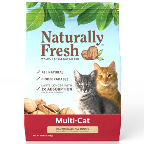 Naturally Fresh Unscented Quick-Clumping Formula Multi-Cat Litter