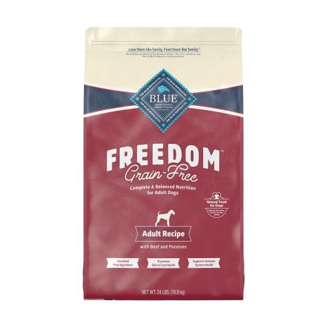 Blue Buffalo Blue Freedom Grain-Free Adult Beef Recipe Dry Dog Food