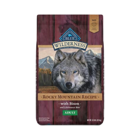 Blue Buffalo Blue Wilderness Rocky Mountain Recipe Adult Bison Dry Dog Food
