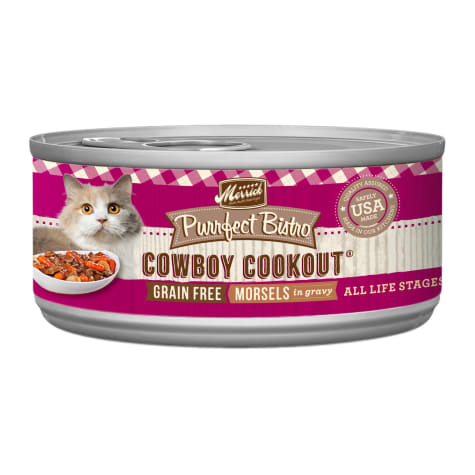 Merrick Purrfect Bistro Grain Free Cowboy Cookout Wet Cat Food