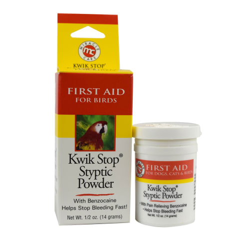 Miracle Care Kwik Stop Styptic Powder for Birds