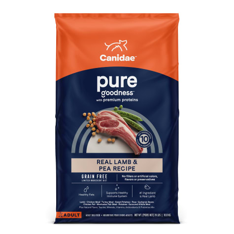 CANIDAE PURE Grain Free Limited Ingredient Real Lamb & Pea Dry Dog Food