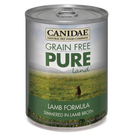 CANIDAE Grain Free PURE Land Lamb Formula Wet Dog Food