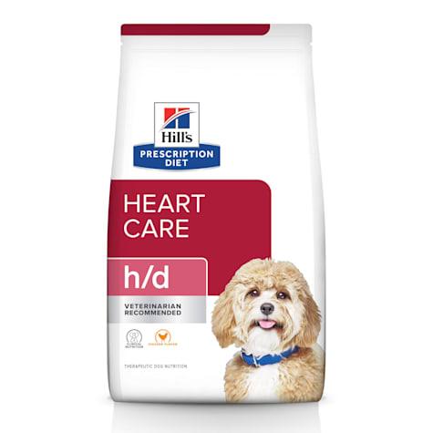 Hill's Prescription Diet h/d Heart Care Chicken Flavor Dry Dog Food