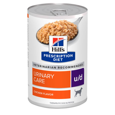 Hill's Prescription Diet u/d Urinary Care Chicken Flavor Canned Dog Food