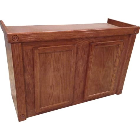 R&J Enterprises 48X18 Cherry Oak Empire Series 75/90/110 Cabinet