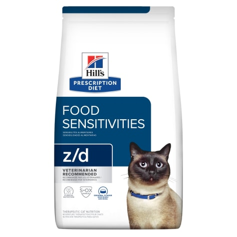 Hill's Prescription Diet z/d Skin/Food Sensitivities Original Dry Cat Food