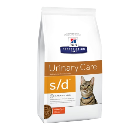 Hill's Prescription Diet s/d Urinary Care Chicken Flavor Dry Cat Food
