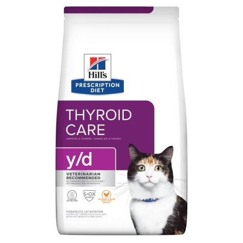 Hill's Prescription Diet y/d Thyroid Care Original Dry Cat Food