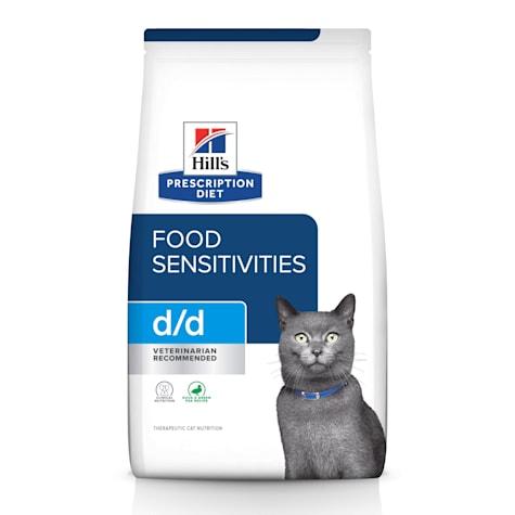 Hill's Prescription Diet d/d Skin/Food Sensitivities Duck & Green Pea Formula Dry Cat Food