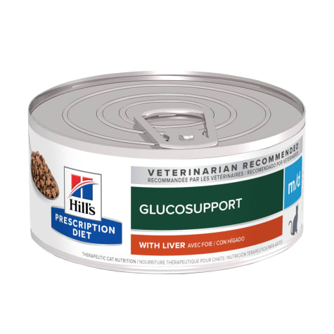 Hill's Prescription Diet m/d GlucoSupport with Liver Flavor Canned Wet Cat Food