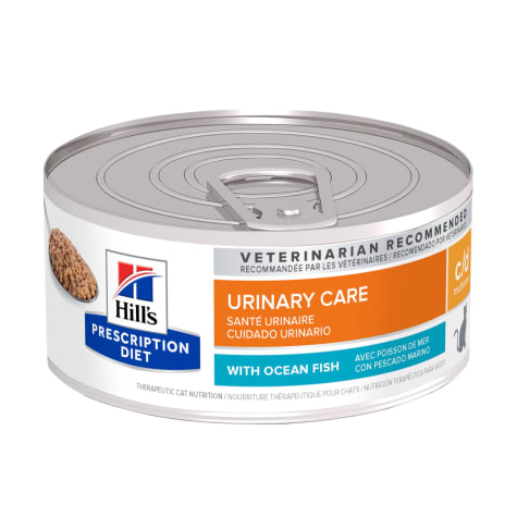 Hill's Prescription Diet c/d Multicare Urinary Care with Ocean Fish Canned Cat Food