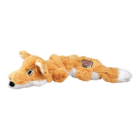 KONG Scrunch Knots Fox Dog Toy