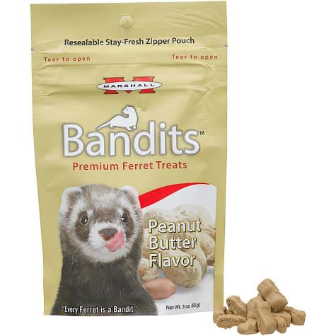 Marshall Pet Products Bandits Premium Peanut Butter Ferret Treats
