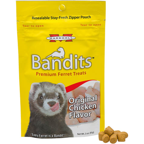 Marshall Pet Products Bandits Premium Chicken Ferret Treats