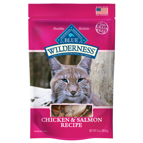 Blue Buffalo Blue Wilderness Chicken & Salmon Cat Treats