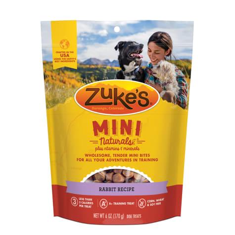 Zuke's Mini Naturals Wild Rabbit Recipe Dog Treats