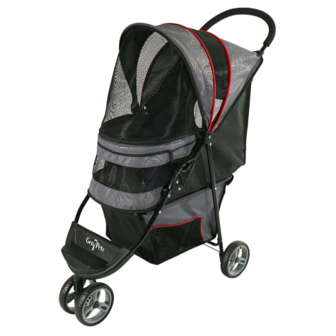 Gen7Pets Regal Plus Pet Stroller in Gray