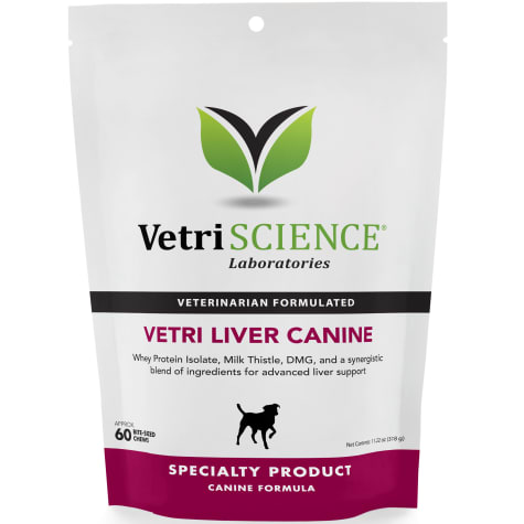 VetriScience Laboratories Vetri-Liver Canine Bite-Sized Dog Chews