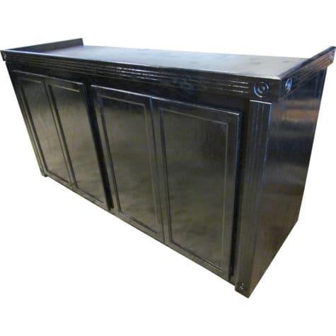 R&J Enterprises 72X18 Black Empire Reef Series 125/150 Cabinet