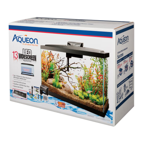 Aqueon Widescreen LED 13 Gallon Aquarium Kit
