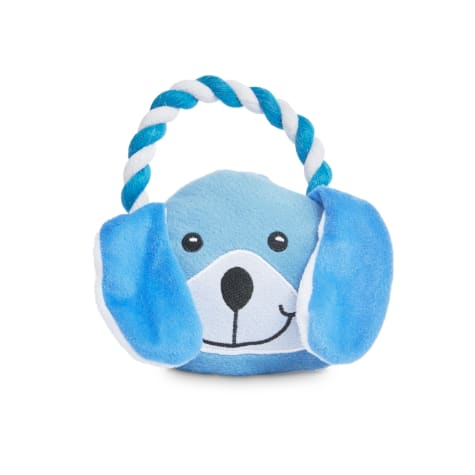 Petco 2 for 5 Toys Party Animal Plush Dog Toy with Rope Handle in Various Styles