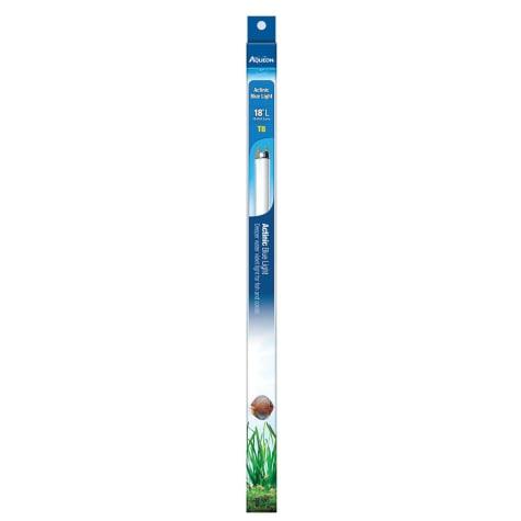 Aqueon T8 Actinic Blue Light Fluorescent Aquarium Lamp, 17 Watts