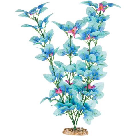 Imagitarium Blue Fiesta Silk Aquarium Plant
