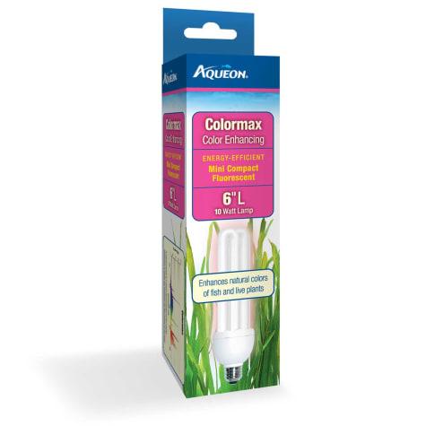 Aqueon Colormax Mini Compact Fluorescent Bulb, 10 Watts